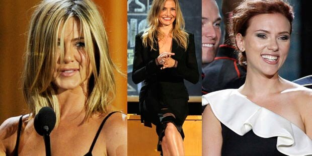 Jen, Cam & Scarlett versüßen Guy-Awards