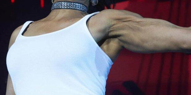 Welcher Lady gehören diese Muskeln?