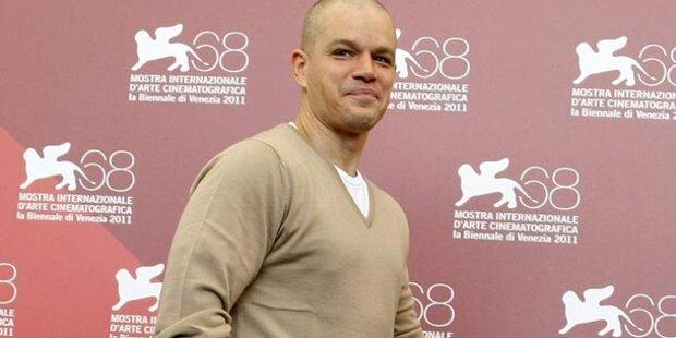 Matt Damon mit Glatze & ein paar Kilos mehr