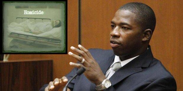 Bodyguard: Kinder sahen Michael sterben