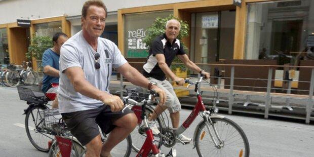Schwarzenegger: Ärger mit der Polizei