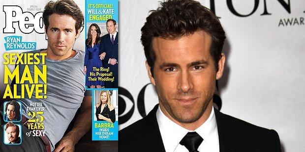 Ryan Reynolds ist der Sexiest Man Alive