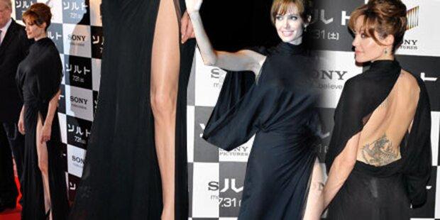 Jolie überlässt wenig der Fantasie