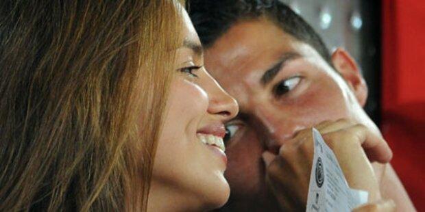 Cristiano Ronaldo & Irina: Liebes-Show