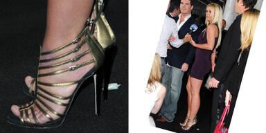 Britneys Füße brauchen eine Pediküre