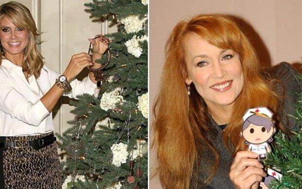 So feiern die Supermodels Weihnachten