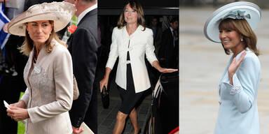 Mode-Vorbild Carole Middleton