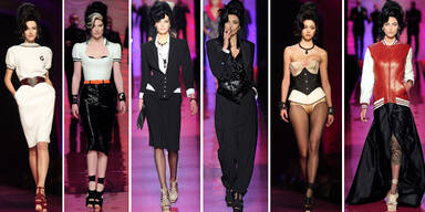 Hommage von Gaultier an Amy Winehouse