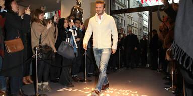 Ansturm auf Beckham-Unterwäsche