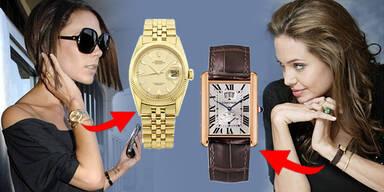Die Luxus-Uhren der Stars
