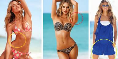 Zu viel Photoshop bei Victoria's Secret