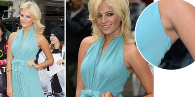 Pixie Lott unrasiert am Red Carpet