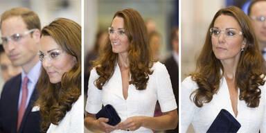 So sieht Kate mit Brille aus