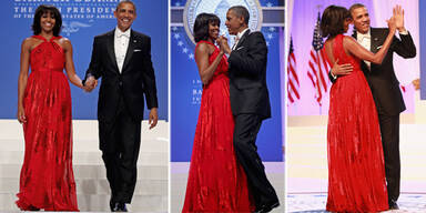 Michelle stiehlt Obama die Show