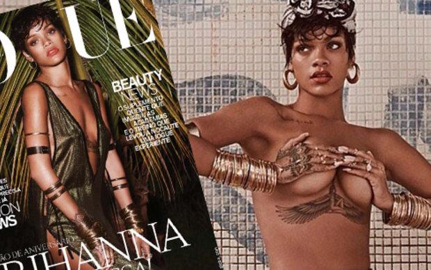 Rihannas sexy Vogue-Shooting