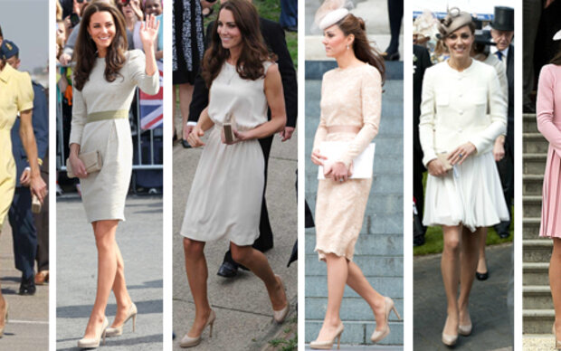 Hat Kate nur 1 Paar Schuhe?