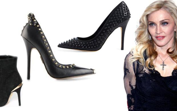 Madonnas Schuh-Kollektion ist da