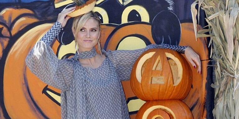 Heidi Klum im Halloween-Fieber