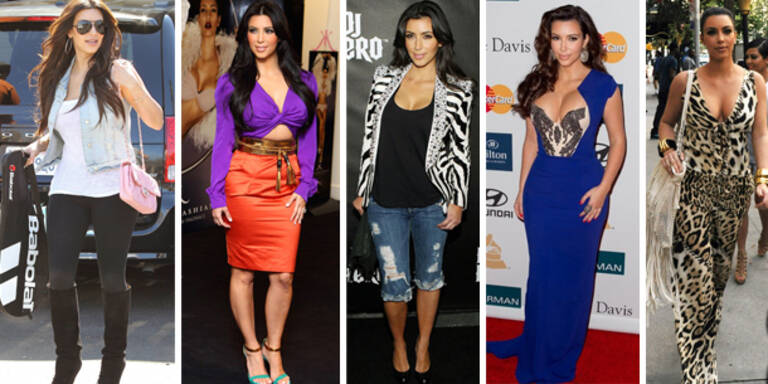 Die Mode-Desaster der Kim Kardashian
