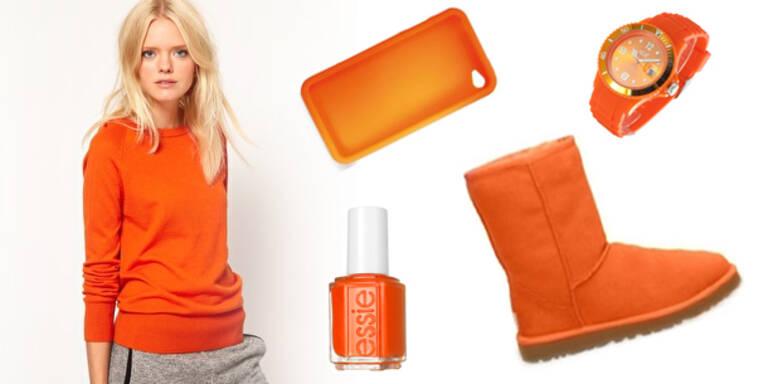 Die schönsten Accessoires in Orange