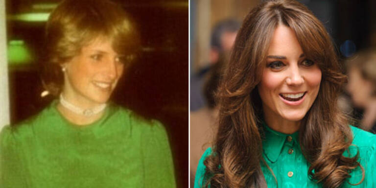 Kate trägt Dianas Style