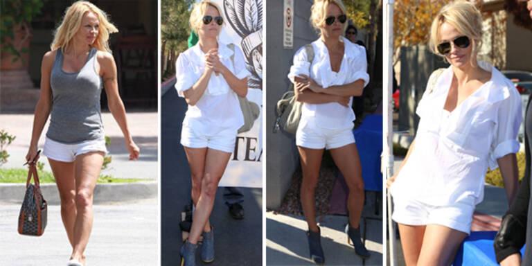 Pamela Anderson: Beine wie ein Super-Model
