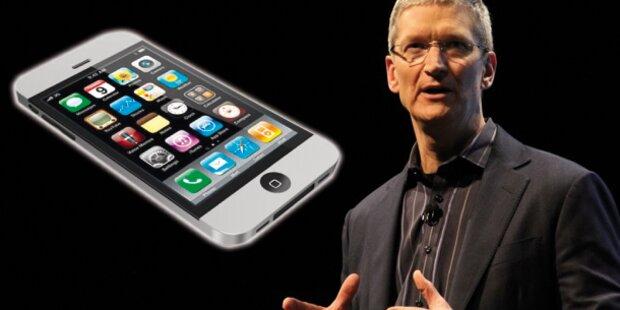 Am Mittwoch stellt er neues iPhone vor