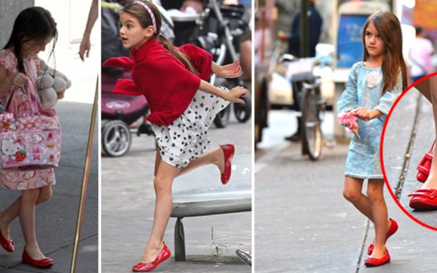 Suri liebt ihre 'Roger Vivier Schuhe'