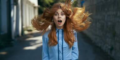 Haartrend Erdbeerblond