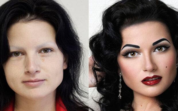 Ein neues Ich: So sehr verändert Make-Up