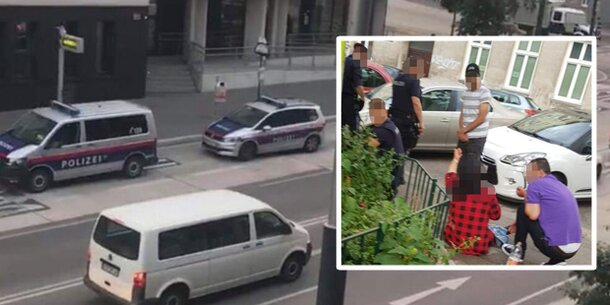 Schwangere auf offener Straße mit Bierflasche niedergestochen