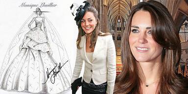 Kate Middleton Hochzeit Kleid