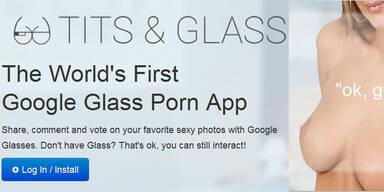 Erste Porno-App für Google-Brille ist da