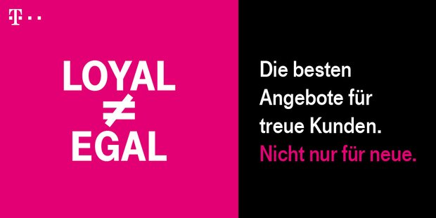 Anzeige T-mobile