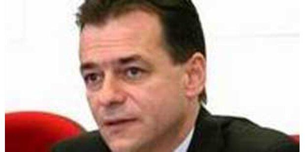 Rumänischer Verkehrsminister ist Führerschein los