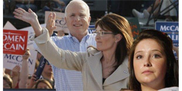 Minderjährige Palin-Tochter ist schwanger