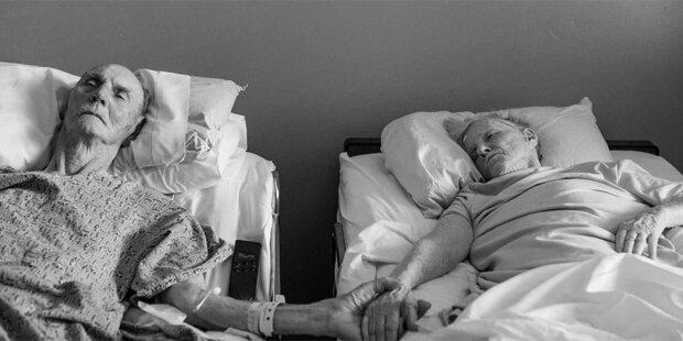 Paar stirbt nach 62 Jahren am selben Tag