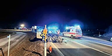 Sekundenschlaf: 2 Tote bei Unfällen
