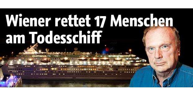 Wiener Arzt operierte am Todes-Schiff