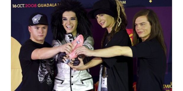 Tokio Hotel haben neues Album im Rucksack