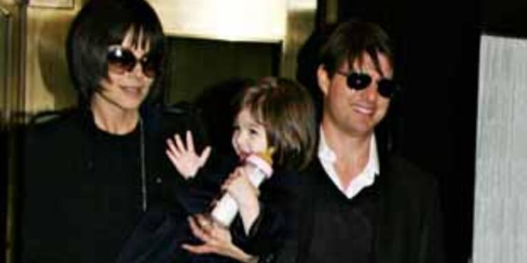 Tom & Katie mit Tochter Suri