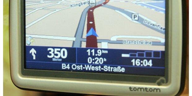 Navigationsgeräte boomen weiterhin