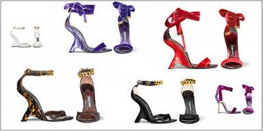 Tom Fords kunstvolle Schuhkollektion