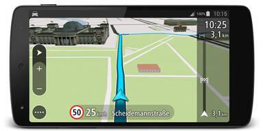 Neue TomTom Navi-App für Android im Test