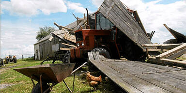 Video: Tornado verwüstet Polen