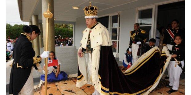 Ende der Monarchie auf Tonga