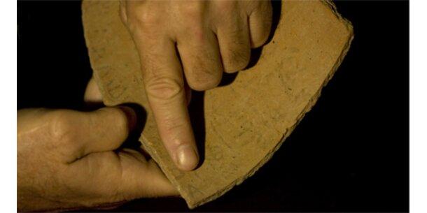 Ältester hebräischer Text auf Tonscherbe entdeckt