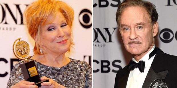 Tony Awards für Midler und Kline