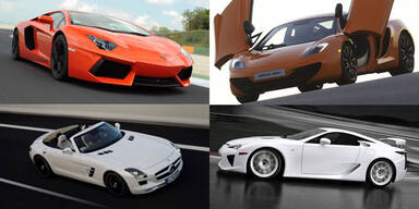 Die Top-Sportwagen der Vienna Autoshow