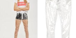 Plastik Jeans werden wohl kein neuer Trend